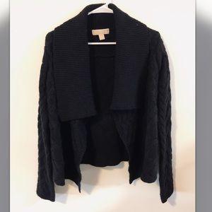 Michael Kors Black Cardigan Sweater